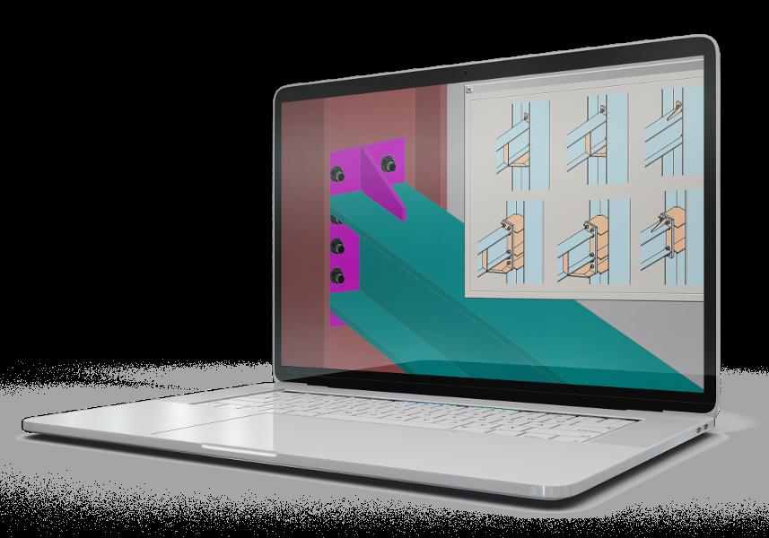 Tecnometal Premium Software Steel Graphics